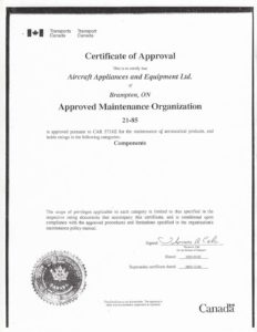 ISO AS1900 certificate